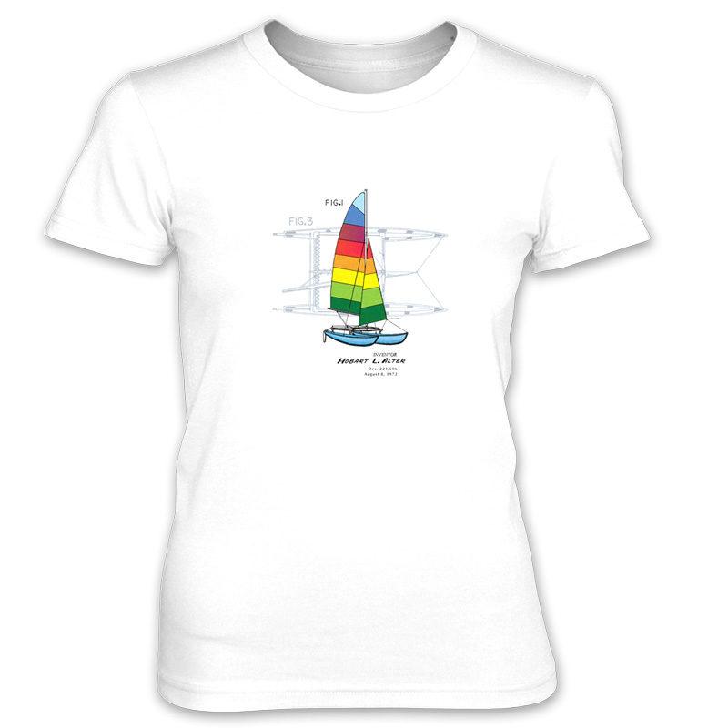 Hobie Cat Women's T-Shirt WHITE