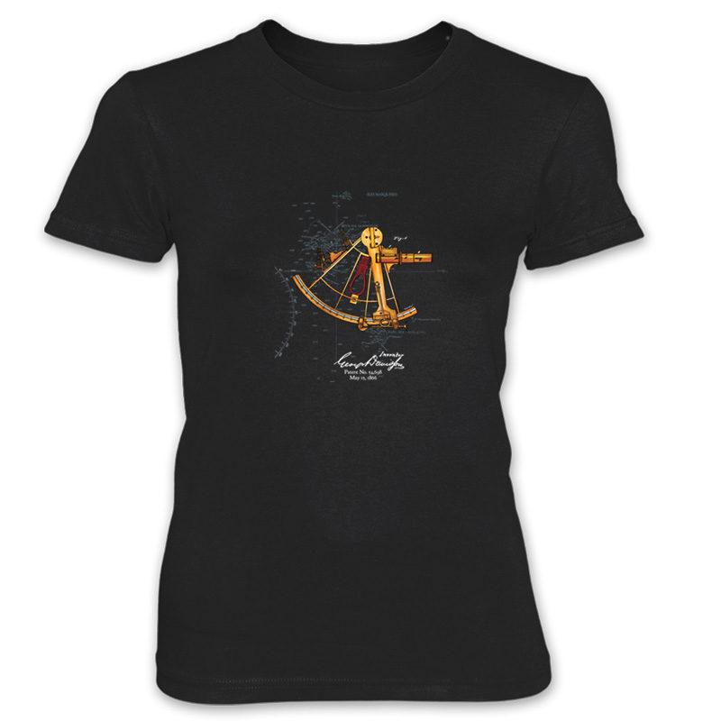 Sextant Women's T-Shirt BLACK