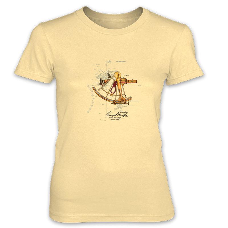 Sextant Women's T-Shirt SPRING YELLOW