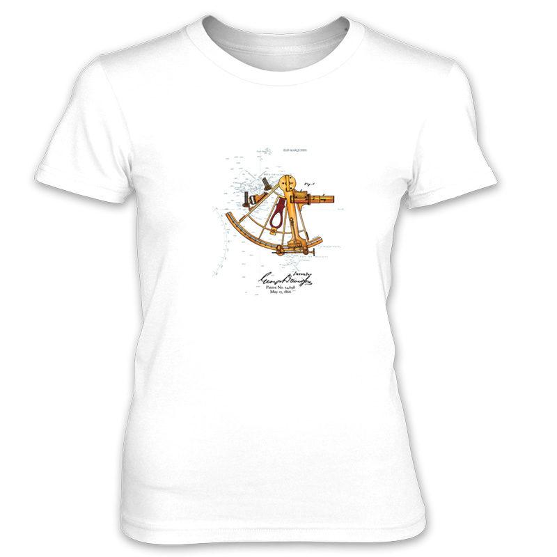 Sextant Women's T-Shirt WHITE