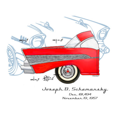57 Chevy Design