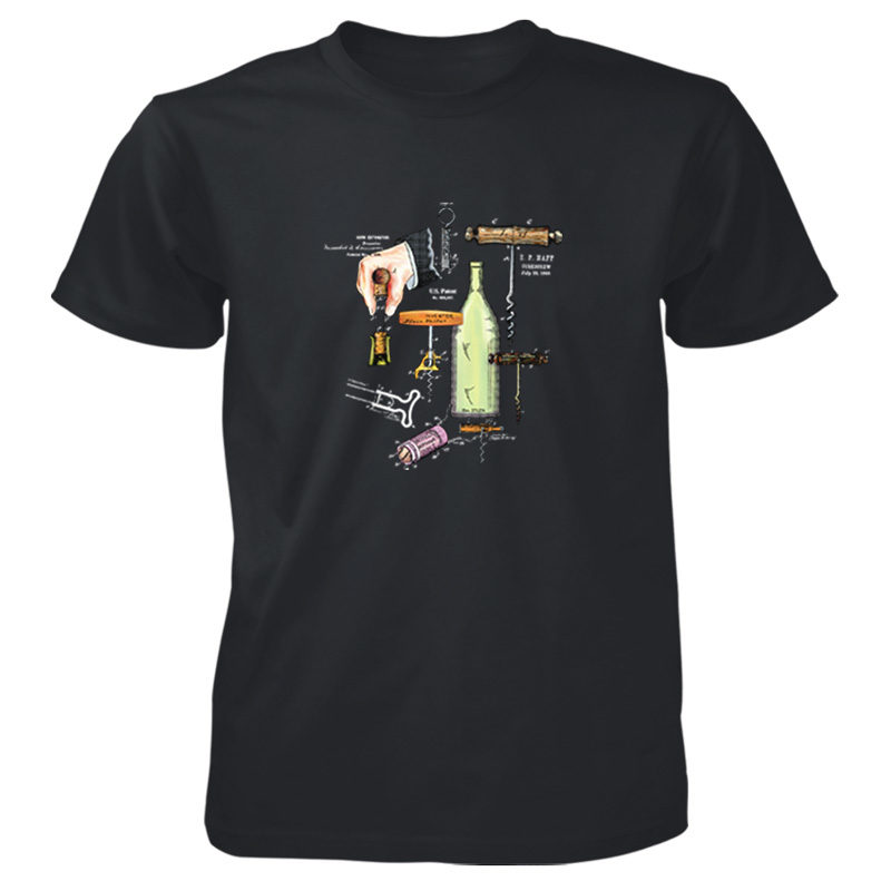 Corkscrew MS-Color T-Shirt BLACK