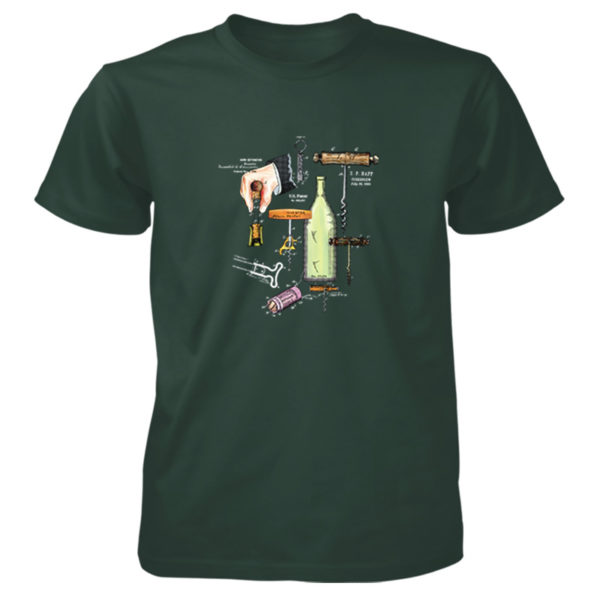 Corkscrew MS-Color T-Shirt FOREST