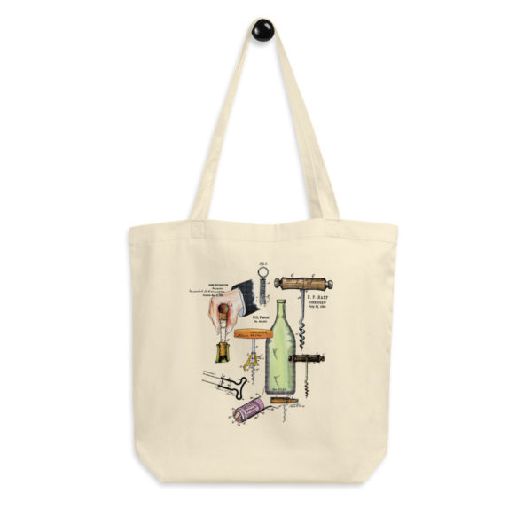 Corkscrew MS-Color Tote Bag