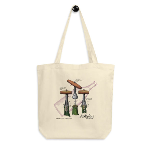 Corkscrew-Strait Tote Bag