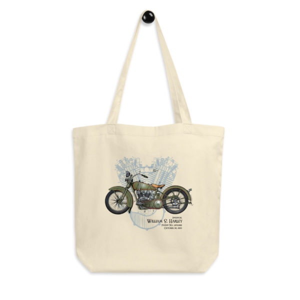 William S. Harley Tote Bag hanging