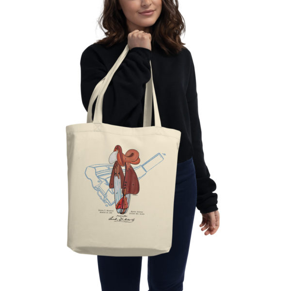 Saddle Tote Bag in action