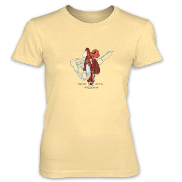 Saddle Women's T-Shirt SPRING YELLOW