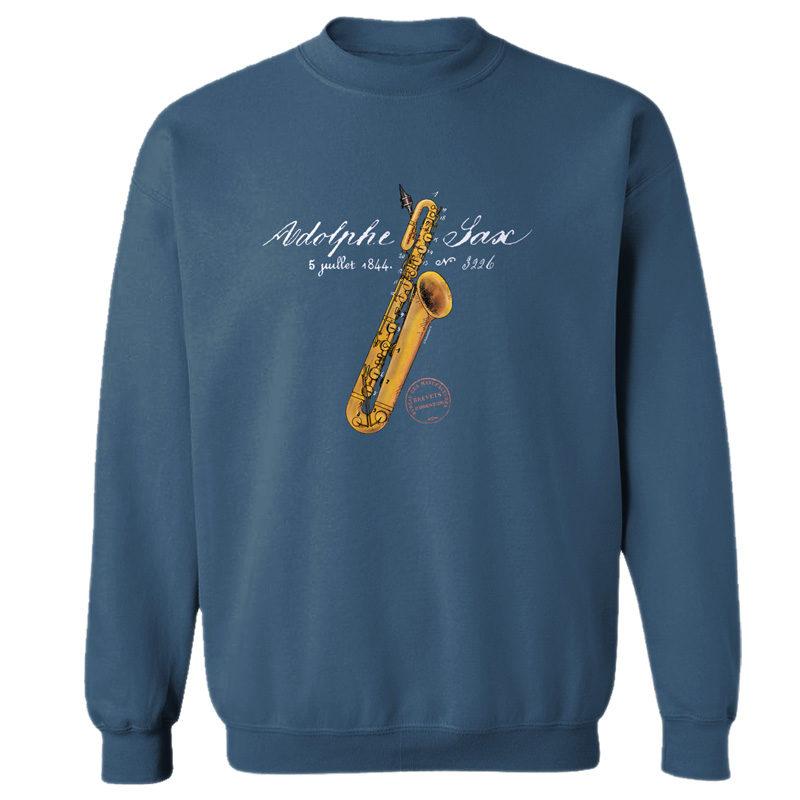 Sax Solo Crewneck Sweatshirt INDIGO BL