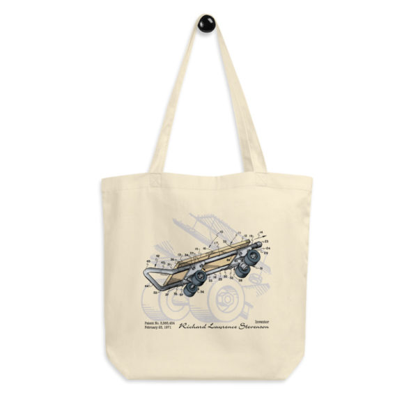 Skateboard Kicktail Tote Bag