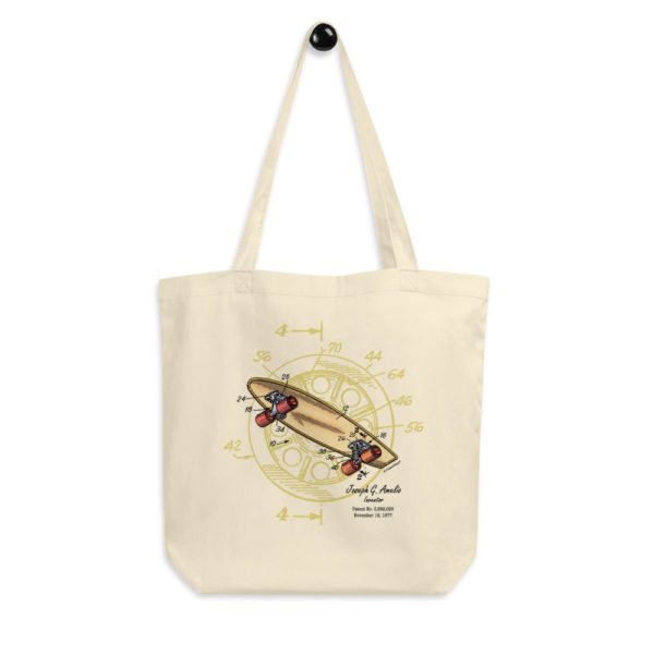 Skateboard-Wheels Tote Bag