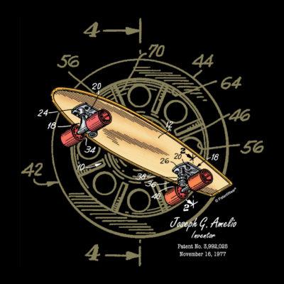 Skateboard-Wheels Design on Darks