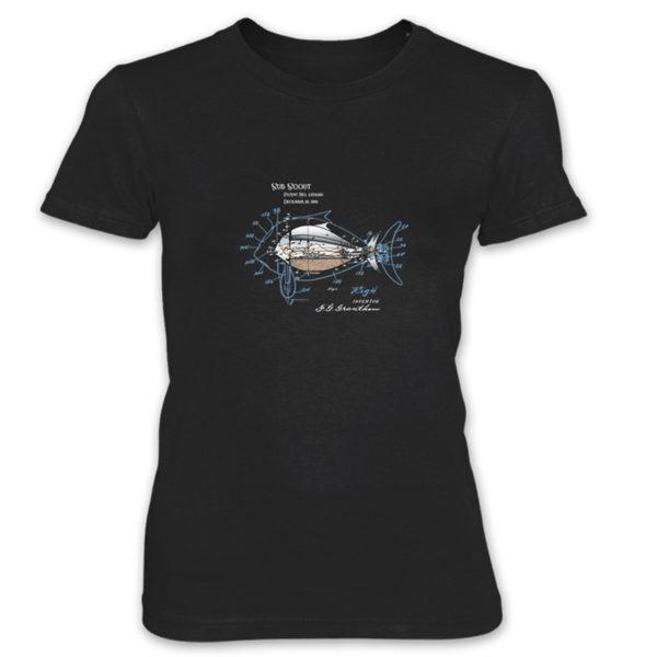 Sub Scout Women's T-Shirt BLACK