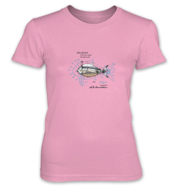 Sub Scout Women's T-Shirt CHARITY PINK