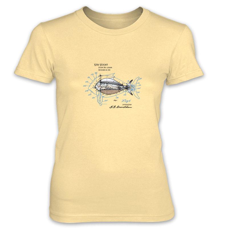 Sub Scout Women's T-Shirt SPRING YELLOW