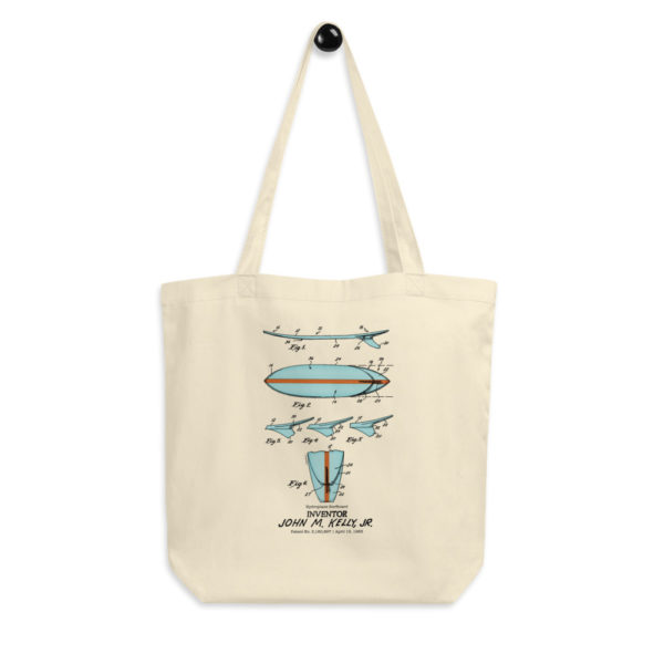 Surfboard-Kelly Tote Bag