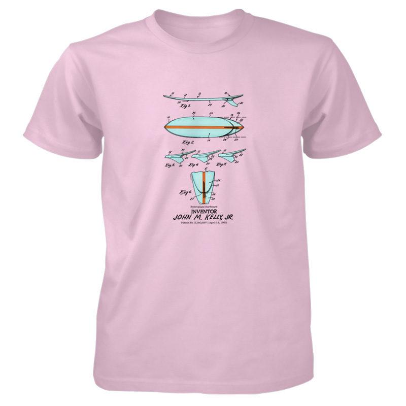 Surfboard-Kelly T-Shirt LIGHT PINK