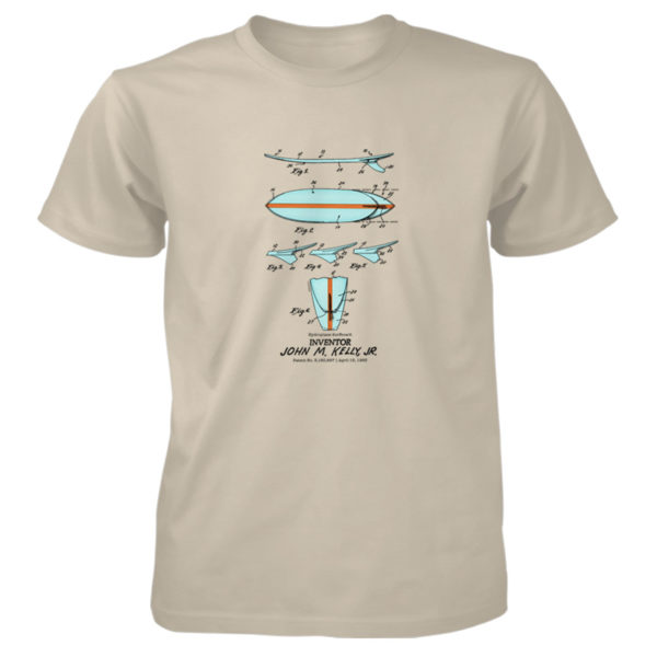 Surfboard-Kelly T-Shirt SAND