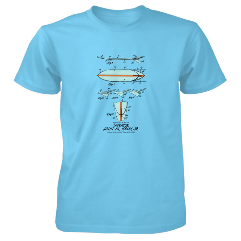 Surfboard-Kelly T-Shirt SKY