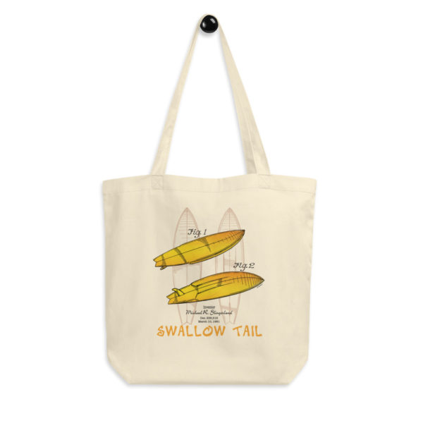 Surfboard-Swallow Tail Tote Bag