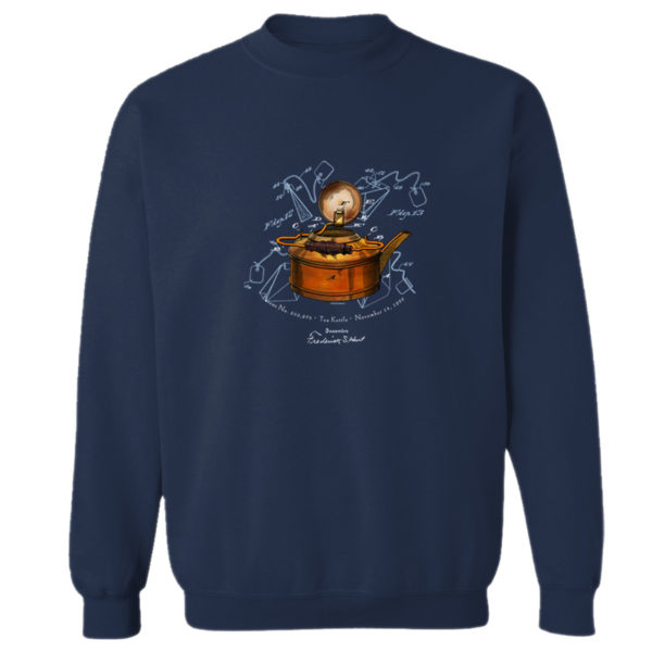 Tea Kettle Crewneck Sweatshirt NAVY