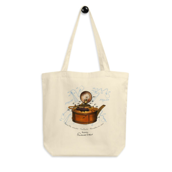 Tea Kettle Tote Bag