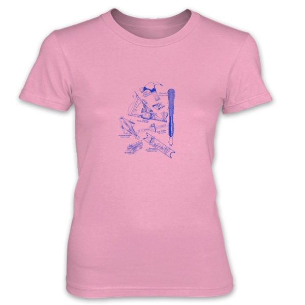 Tools MS-Lineart Women's T-Shirt CHARITY PINK