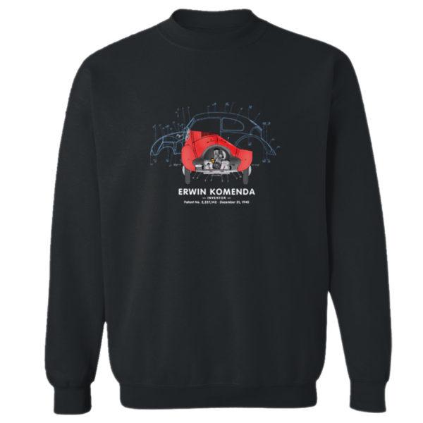 Vee DubBug Crewneck Sweatshirt BLACK