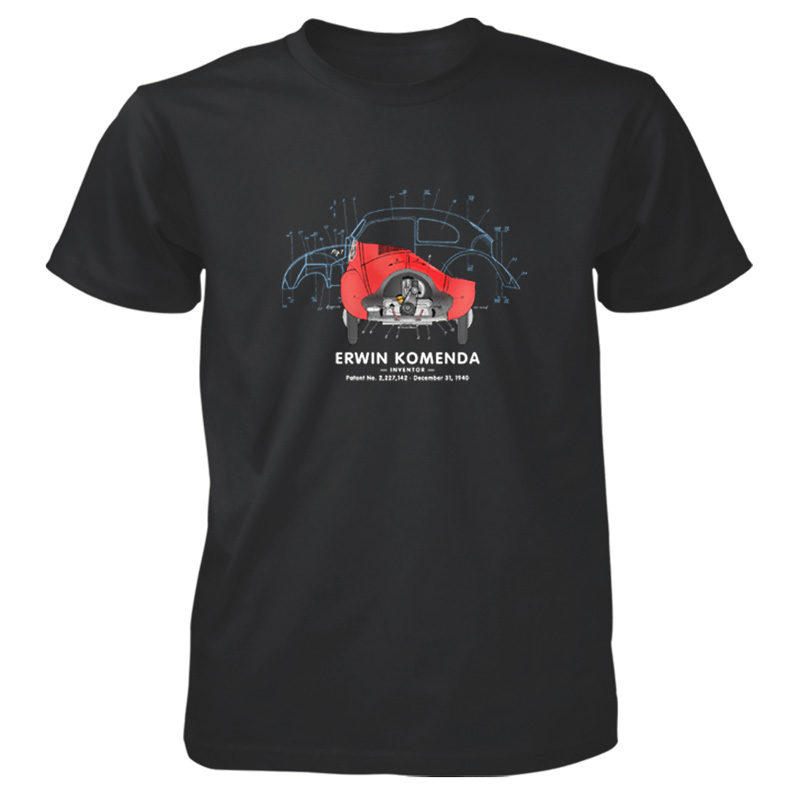 Vee Dub Bug T-Shirt BLACK