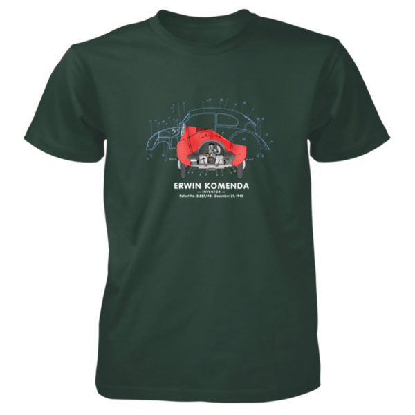 Vee Dub Bug T-Shirt FOREST