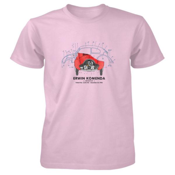 Vee Dub Bug T-Shirt LIGHT PINK
