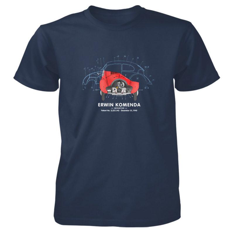 Vee Dub Bug T-Shirt NAVY