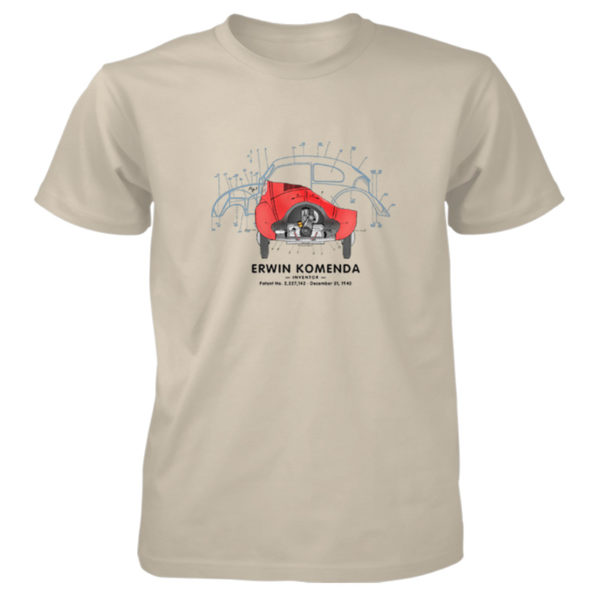 Vee Dub Bug T-Shirt SAND