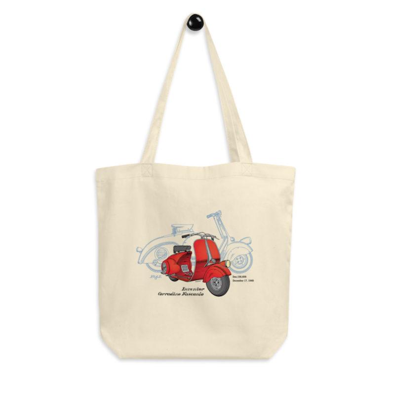 Wasp (Vespa) Tote Bag hanging