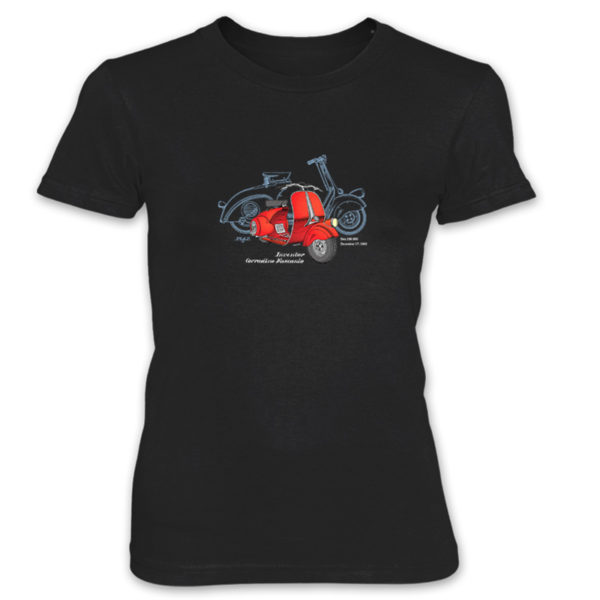 Wasp (Vespa) Women's T-Shirt BLACK