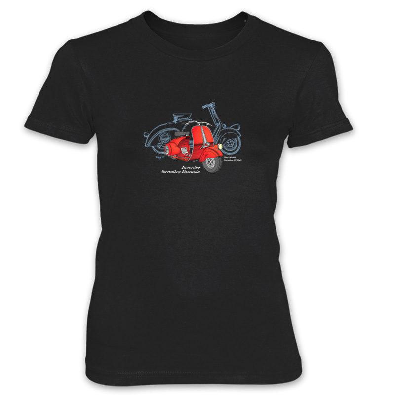 Wasp (Vespa) Women's T-Shirt BLACK