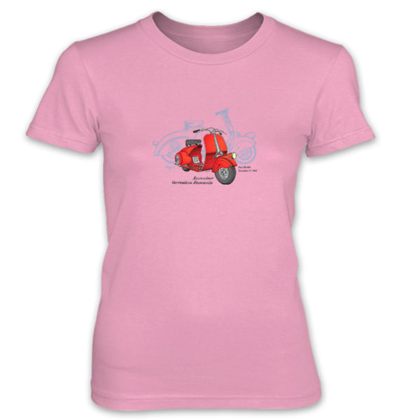 Wasp (Vespa) Women's T-Shirt CHARITY PINK