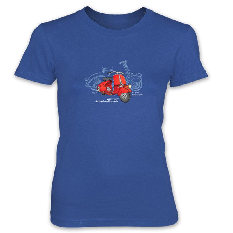 Wasp (Vespa) Women's T-Shirt ROYAL BLUE