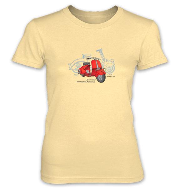 Wasp (Vespa) Women's T-Shirt SPRING YELLOW