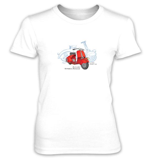 Wasp (Vespa) Women's T-Shirt WHITE