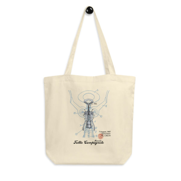 Corkscrew BIG Campy Tote Bag
