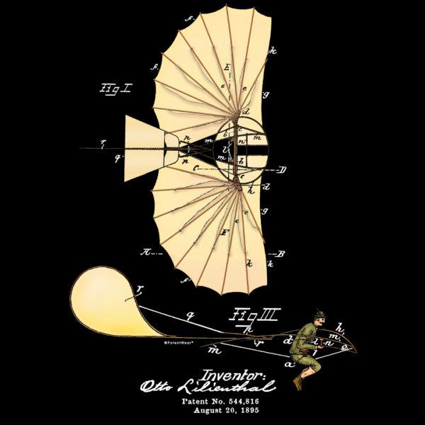 Lilienthal Glider Design on Darks