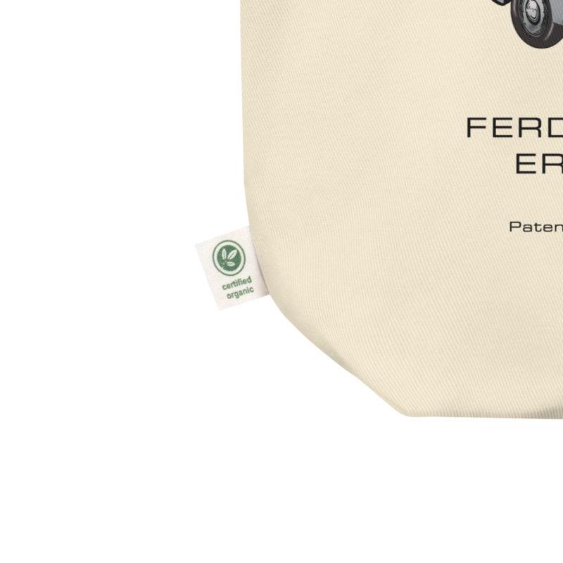 Porsche 356 Patent Tote Bag detail