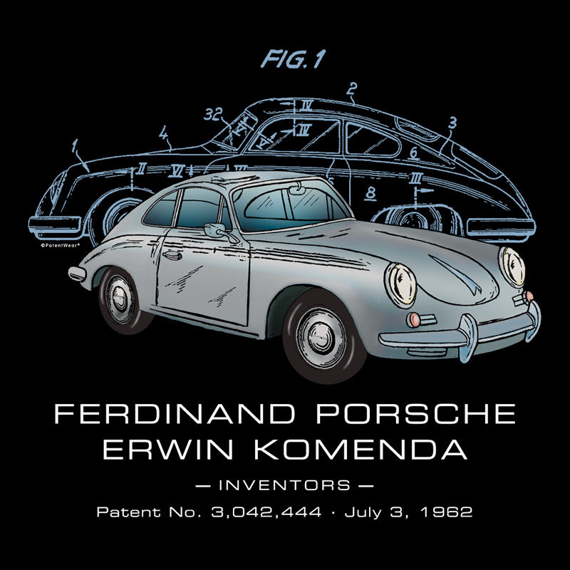 Porsche 356 Design on Darks