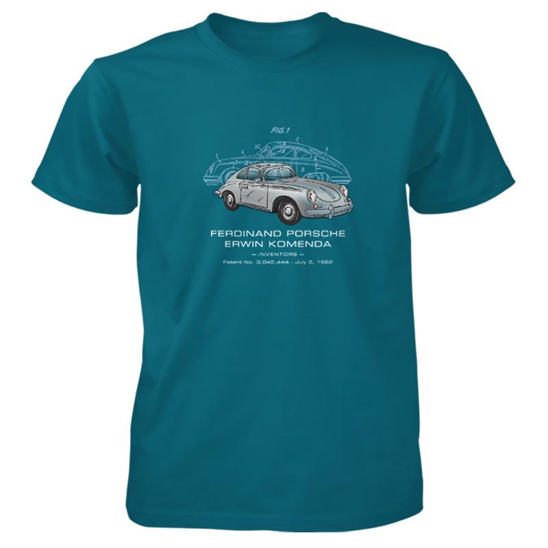 Porsche 356 Patent T Shirt Patentwear