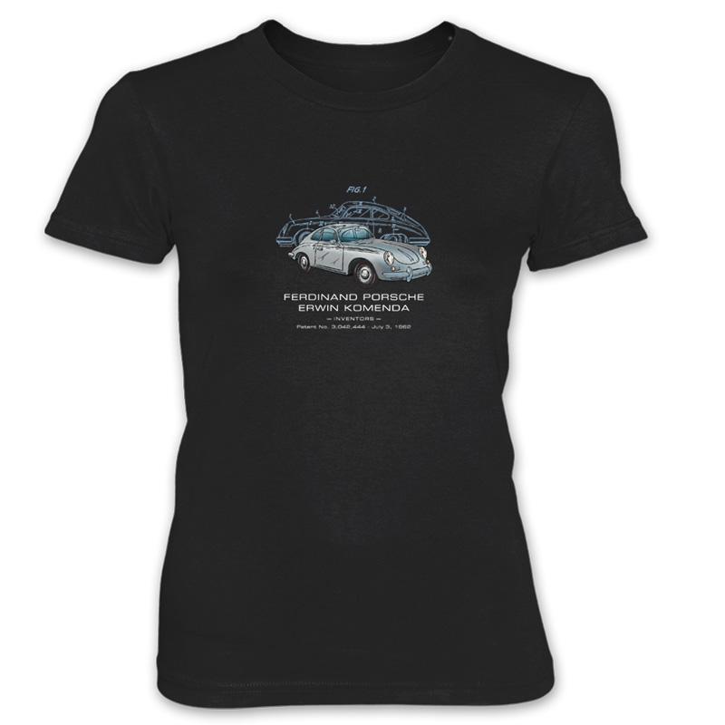 Porsche 356 Women's T-Shirt BLACK