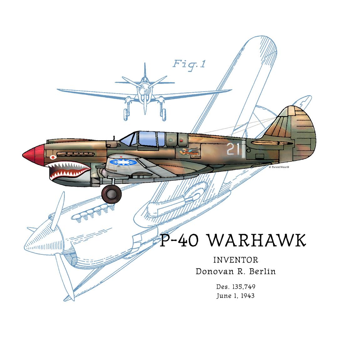P-40 Warhawk Design