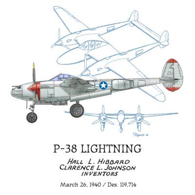 P-38 Lightning Design