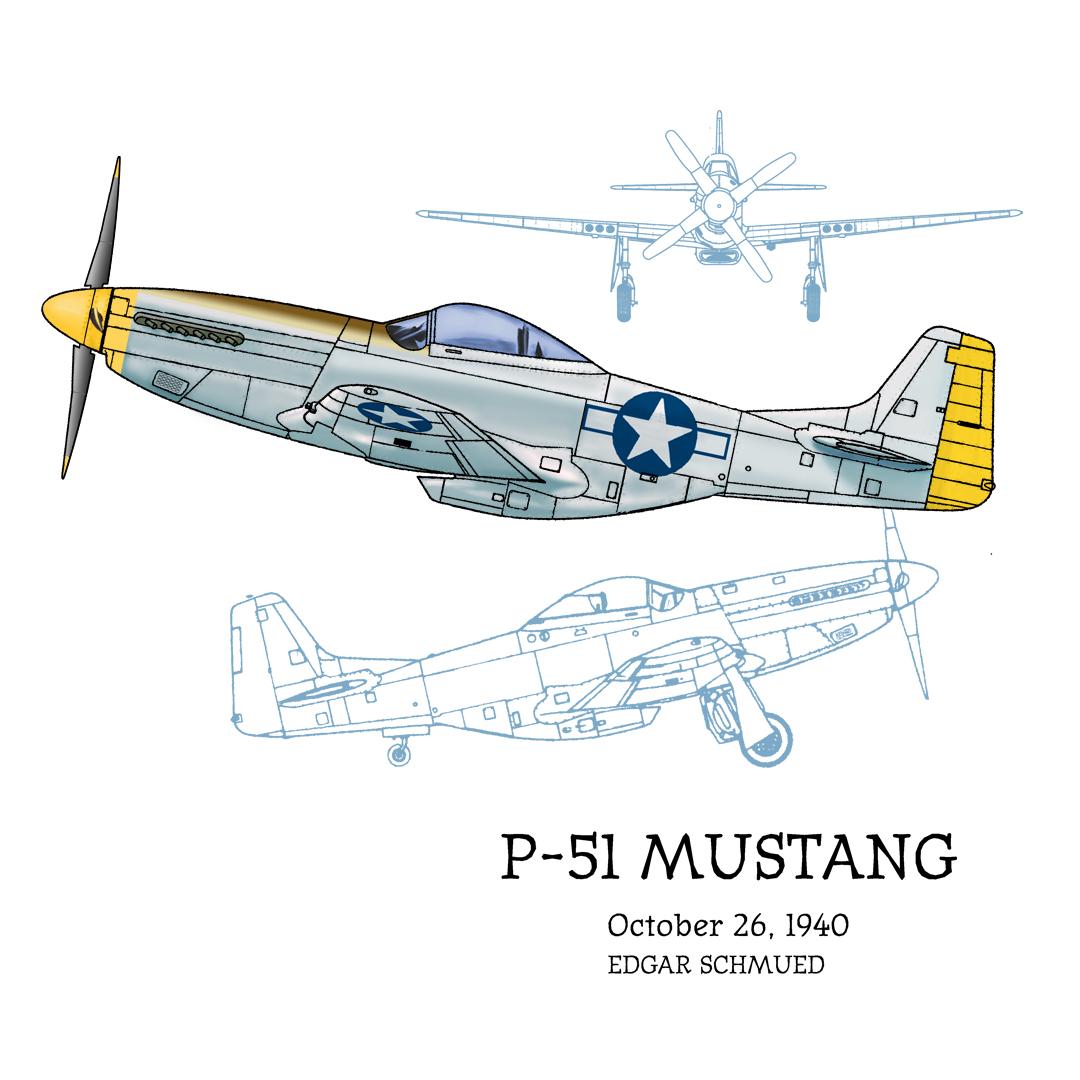 P-51 Mustang Design