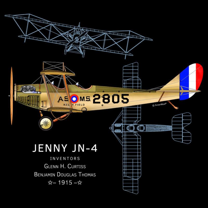Jenny JN-4 Design on Darks